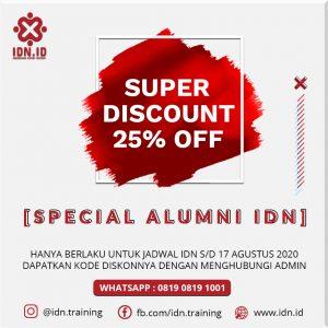 promo alumni training IDN