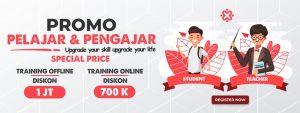 promo training idn pelajar & pengajar