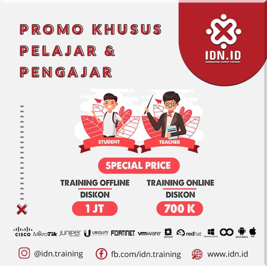 promo training idn pelajar