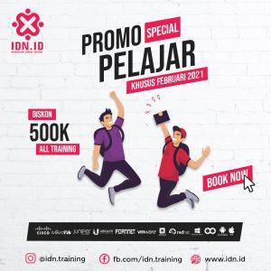 promo pelajar training IDN