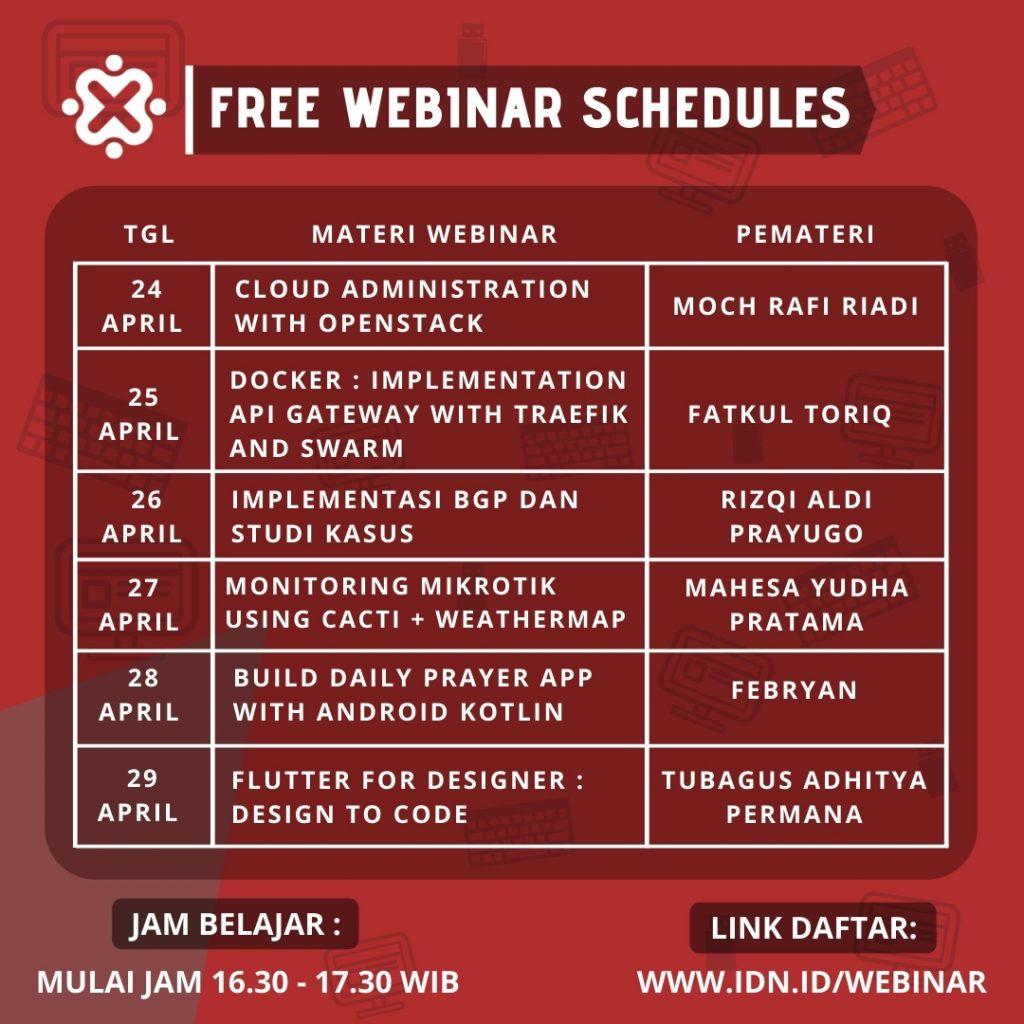IDN Free Webinar