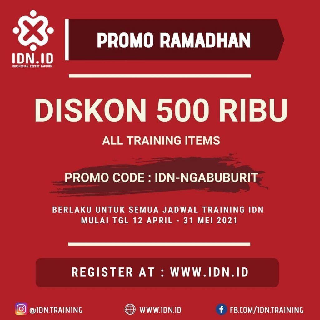 Promo Ramadhan Training IDN
